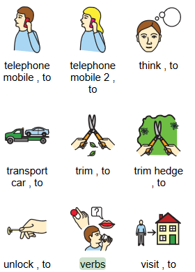 Mulberry communication symbols